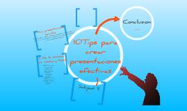 Tips para una presentación efectiva