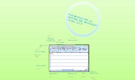 elementos de la ventana de microsoft excel 2007