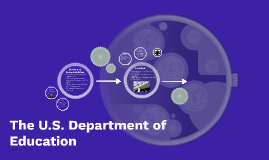The U.S. Department of Education