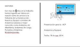 Presentacion para la : ACP