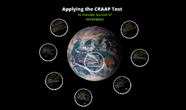 Using the CRAAP Test