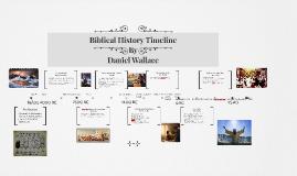Biblical History Timeline