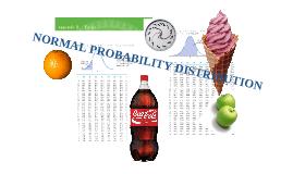Understanding Normal Probability Distribution