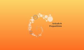 Articals & Prepositions