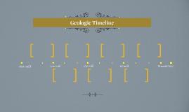 Geologic Timeline