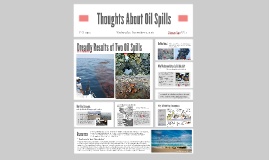 Copy of Thoughts About Oil Spills