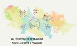 DEFINICIONES DE ESTRATEGIA