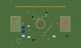 I modelli qualitativi e la programmazione dell'allenamento