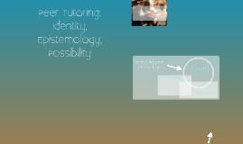 Epistemological Possibility in Peer Tutoring