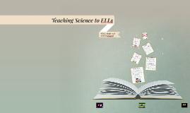 Teaching Science to ELLs