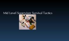 Mid Level Career Survival