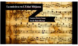 La música en L'Edat Mitjana