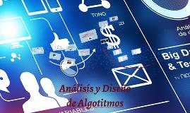 Analisís y Diseño de Algotitmos