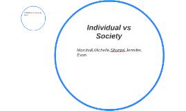 Individual vs Society