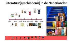 Copy of Literatuur(geschiedenis) in de Nederlanden