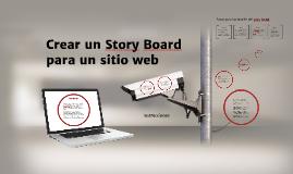 Crear un story board para un sitio Web
