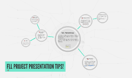 FLL PROJECT PRESENTATION TIPS!