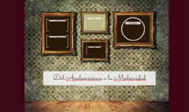 Del Academicismo a la Modernidad