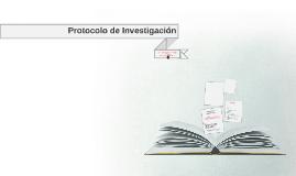 Protocolo de Investigaciòn