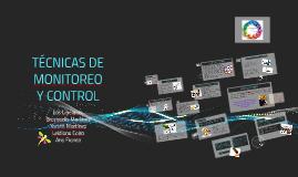TECNICAS DE MONITOREO Y CONTROL