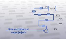 Rola mediatora w negocjacjach