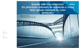 Palestra Valuation Diego 23.03.2017