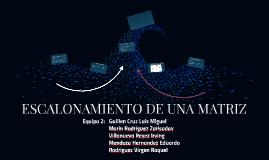 Copia de ESCALONAMIENTO DE UNA MATRIZ