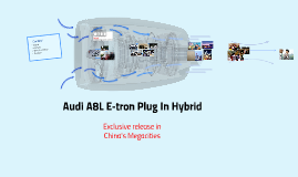 Audi A8L E-tron Plug In Hybrid