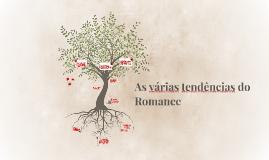 As várias tendências do Romance