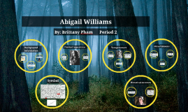 the presentation of abigail williams in A crucible is defined as both a container that purifies metals at extreme heat and a severe test  the crucible, puts  of his accuser abigail williams,.