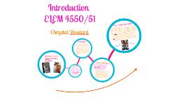 Introduction ELEM4550/Social Studies