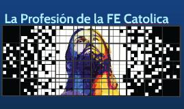Profesion de la FE Catolica