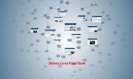 Copy of Sidney Lions Food Bank