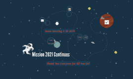 Support Team Meeting - Mission 2021 Returns - 04-18-2019