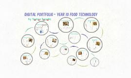 Digital Portfolio - Year 10 Food Technology