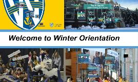 Winter Orientation 2019