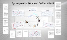 Las vanguardias literarias en América latina 5