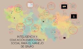 INTELIGENCIA EMOCIONAL Y MANEJO DE GRUPO