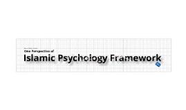 Islamic Psychology Framework