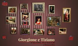 Giorione e Tiziano