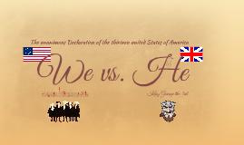 We vs. He