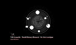 7.06 Genocide - World History (Honors) - Mr. Eric Corrigan - Angel - Florida-Georgia Line