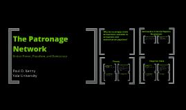 The Patronage Network (jobtalk)