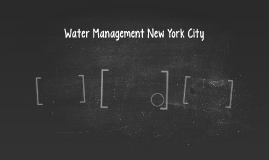 Water Management New York City