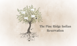 The Pine Ridge Indian Reservation