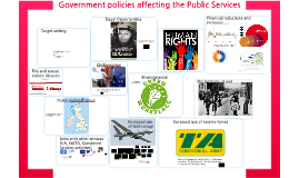 Government policies affecting the Public Services