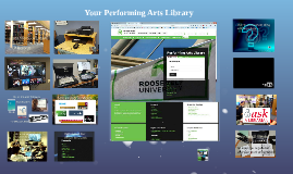 Your Performing Arts Library