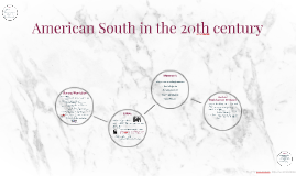 American South in the 20th century