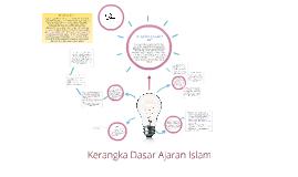 Copy of Kerangka Dasar Ajaran Islam