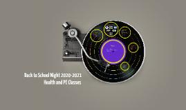 Back to School Night 2016-2017